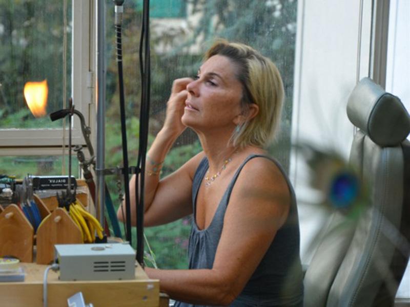 Hélène Courtaigne Delalande propose des créations sur-mesure