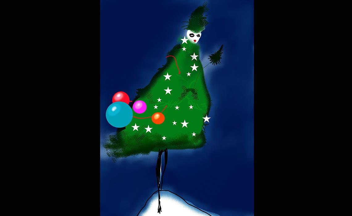 Les Sapins de Noël des Créateurs illuminent Paris