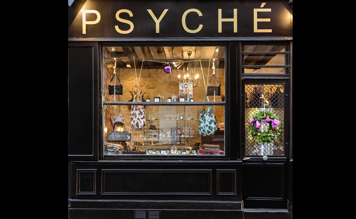 Psyché, une boutique qui a une âme