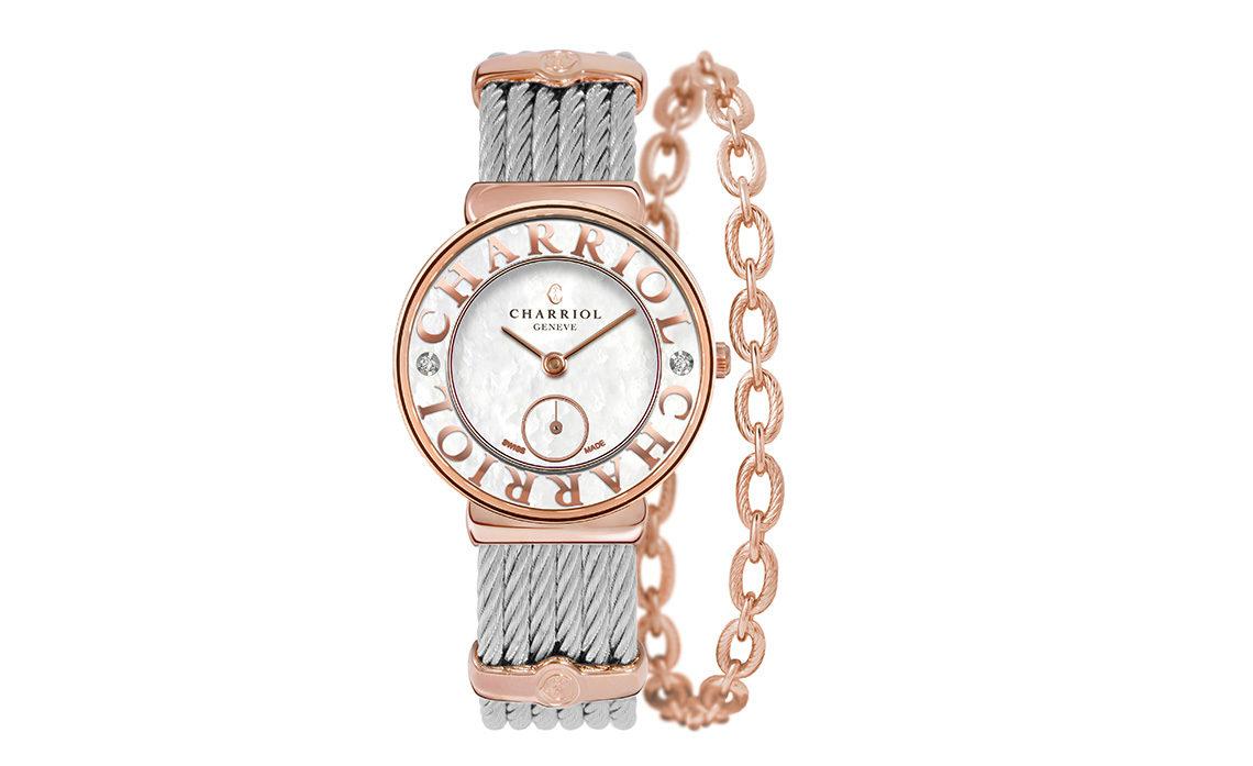 La montre St-Tropez de Charriol se met au vert !