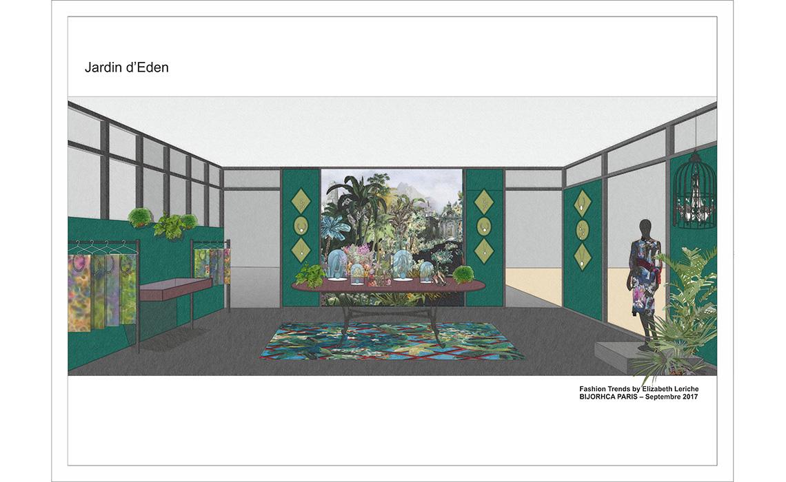 L'espace tendance au salon Bijorhca Paris