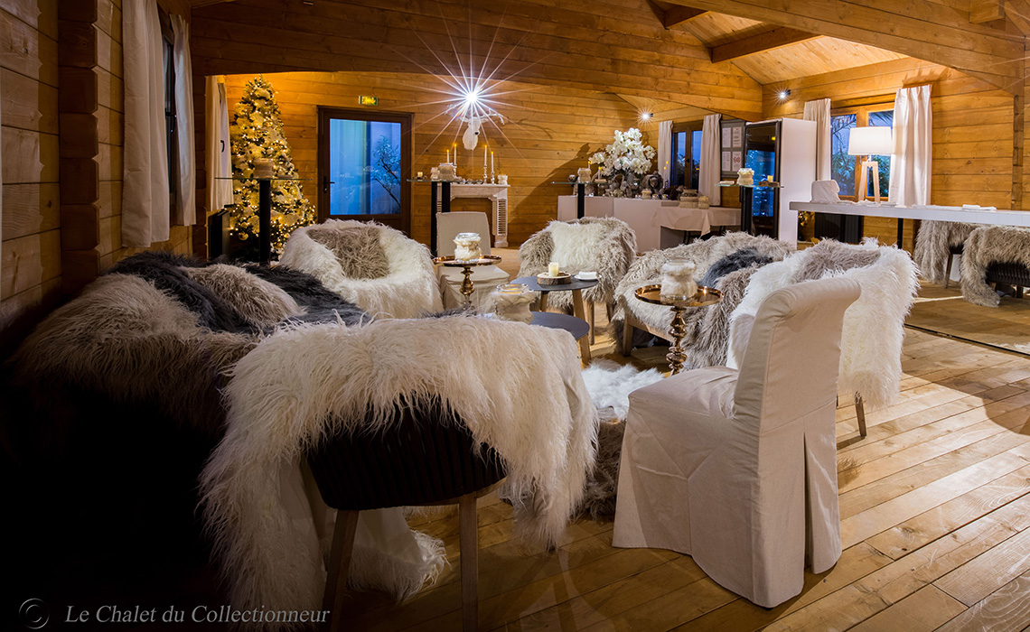 Les illuminations de Noël dans les palaces