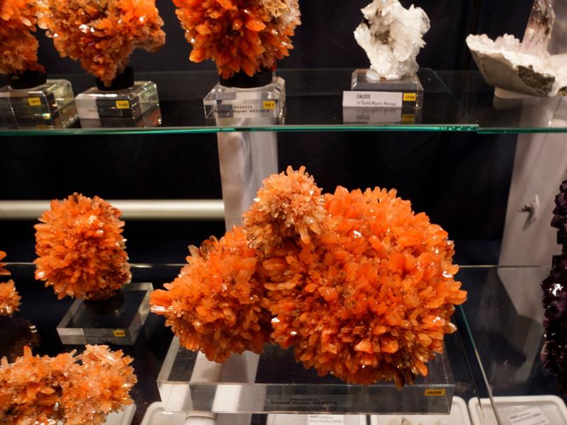 Le salon Mineral & Gem: quand la planète gemme se rencontre