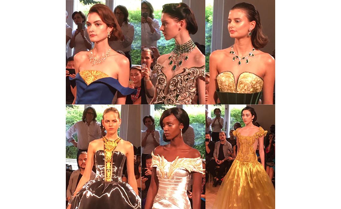 Quand la Couture rencontre la Haute Joaillerie