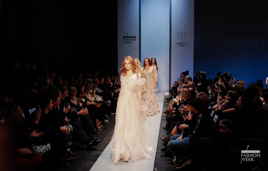 Le couturier Georges Makaroun illumine la Fashion Week de Saint-Pétersbourg