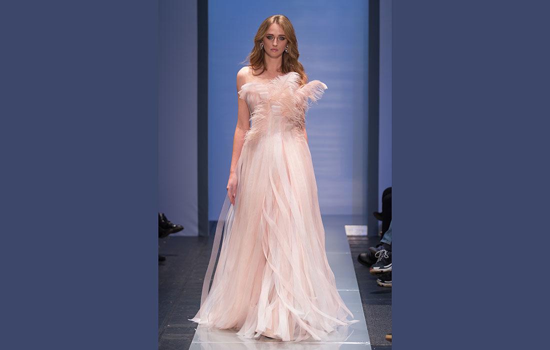 Le couturier Georges Makaroun illumine la Fashion Week de Saint-Pétersbourg