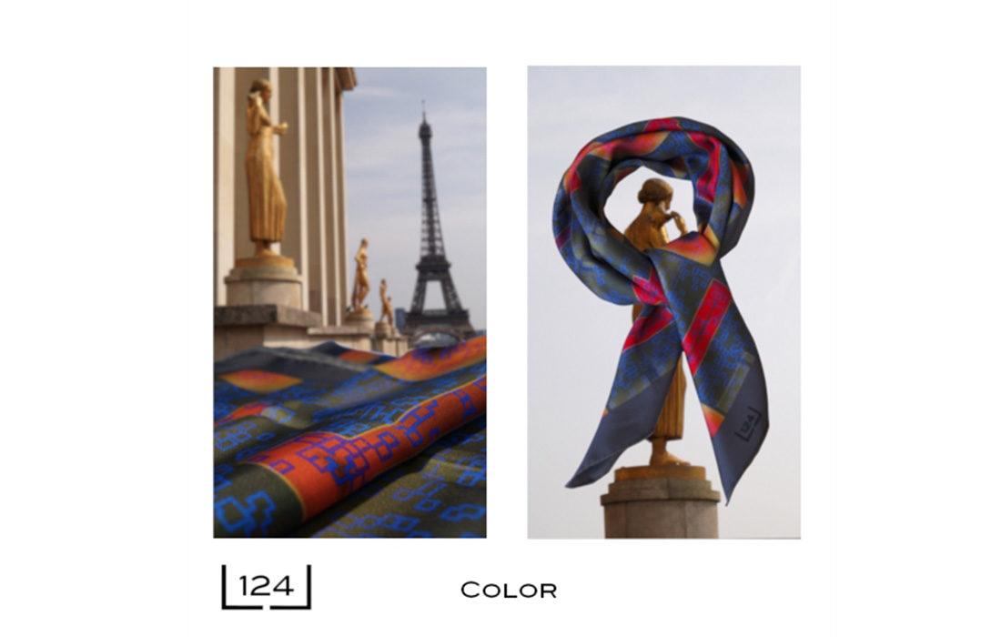 Pascal Jérôme: quand le foulard devient art!