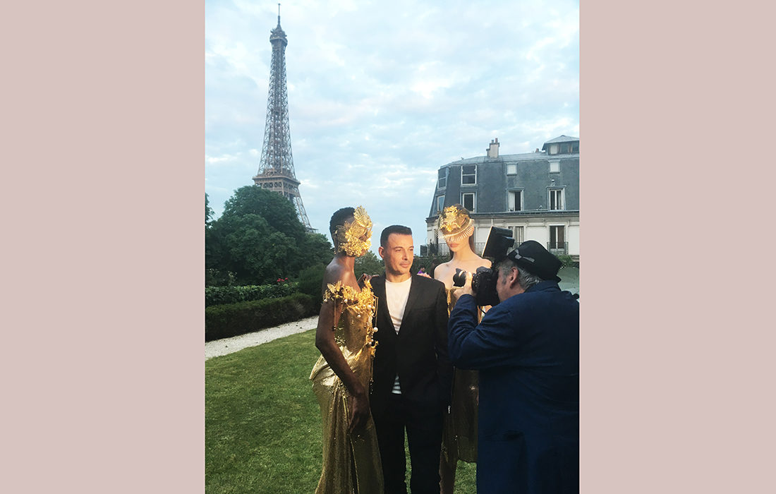 Eric Tibusch défile à nouveau à Paris!