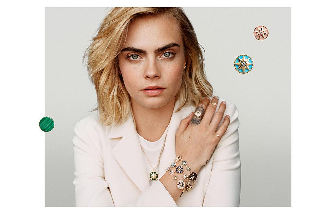 Dior joaillerie nomme Cara Delevingne comme égérie glamour