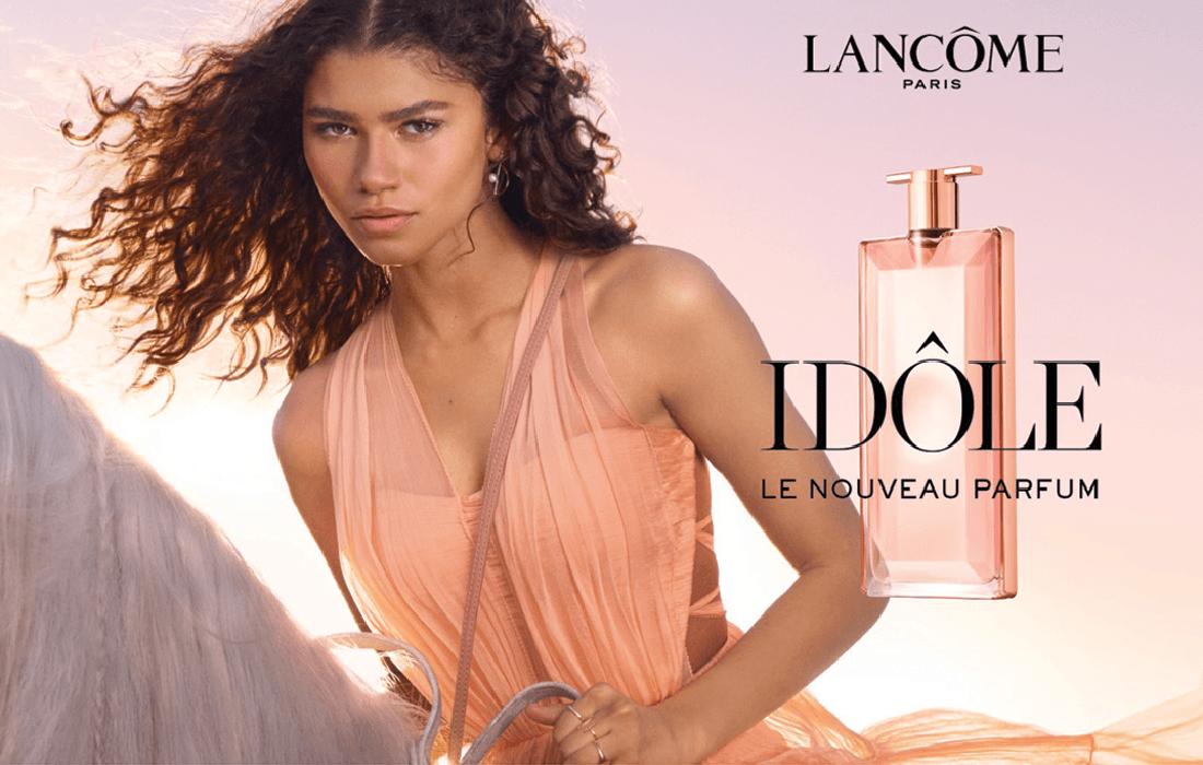 Lancôme : Idôle et sa nouvelle boutique des Champs-Elysées