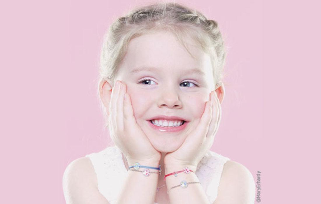 Bijoux pour enfants: un joli message d'espoir
