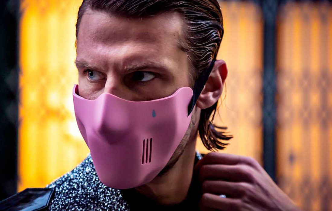 Des masques Dacry cyber-fashion